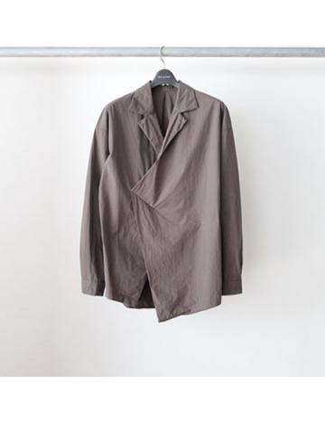 Open Collar Shirt. Ver.2 (GRY)