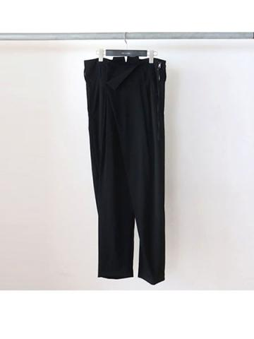 Wrapped Trousers (BLK)