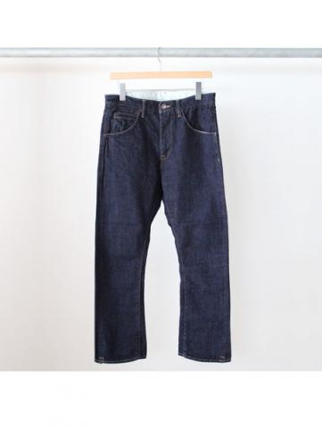 BOOTS CUT DENIM PANTS (BLU)