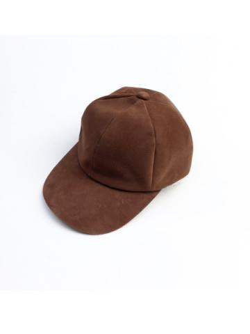 SHEEP SUEDE CAP (LBRN)