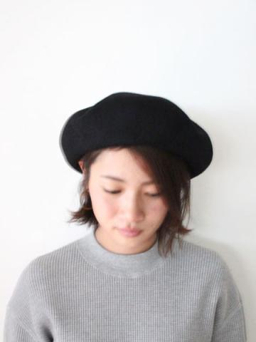 BIG BASQUE BERET (BLK)サブイメージ1