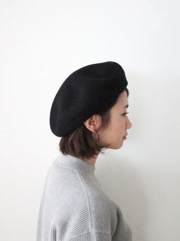 BIG BASQUE BERET (BLK)サブイメージ2