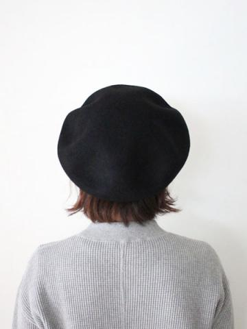 BIG BASQUE BERET (BLK)サブイメージ3