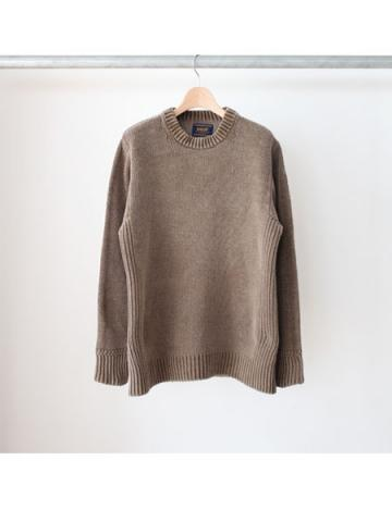 Over dyed pullover (BRN)