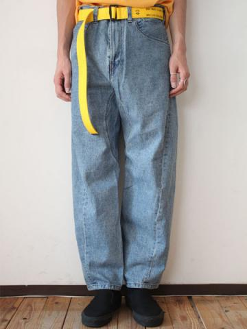 Engineered denim pants (INDIGO)サブイメージ1