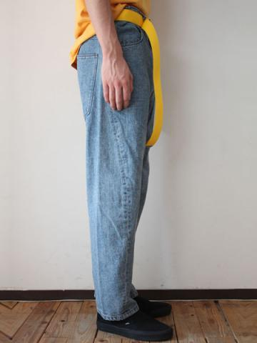 Engineered denim pants (INDIGO)サブイメージ2