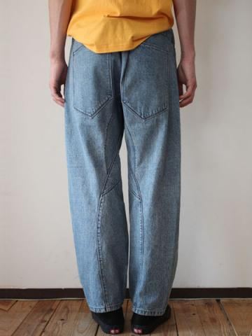 Engineered denim pants (INDIGO)サブイメージ3