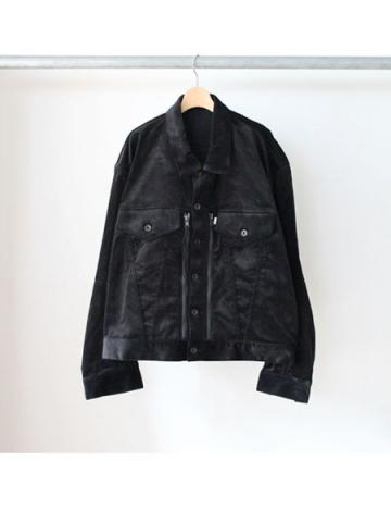 Oversized shaped G jacket (BLK)