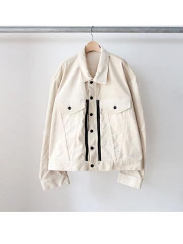 Oversized shaped G jacket (IVY)