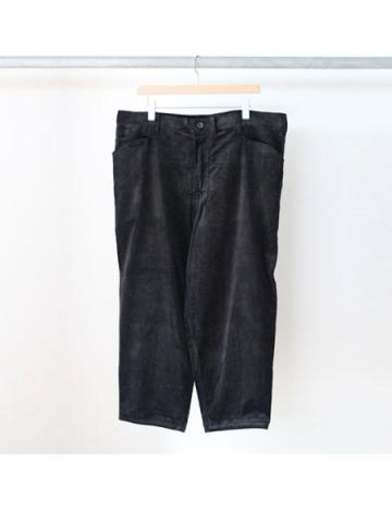 Oversized tapered pants (BLK)