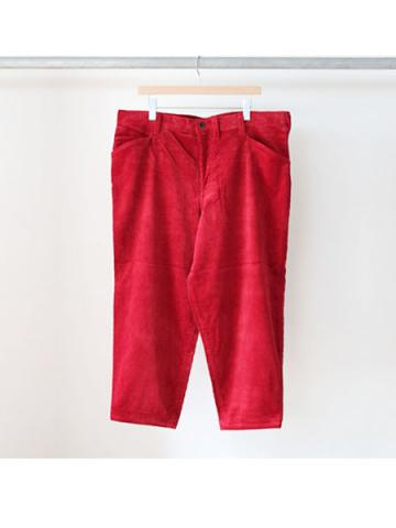 Oversized tapered pants (RED)