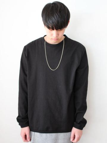 Long sleeve tee (BLK)サブイメージ1