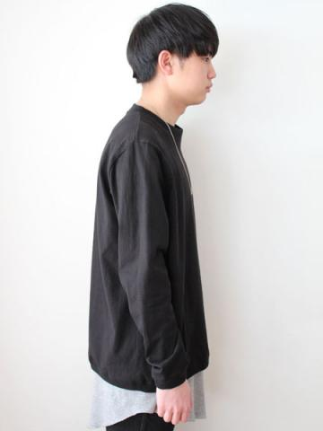 Long sleeve tee (BLK)サブイメージ2