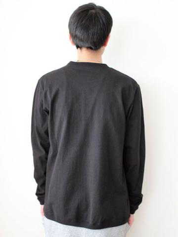 Long sleeve tee (BLK)サブイメージ3