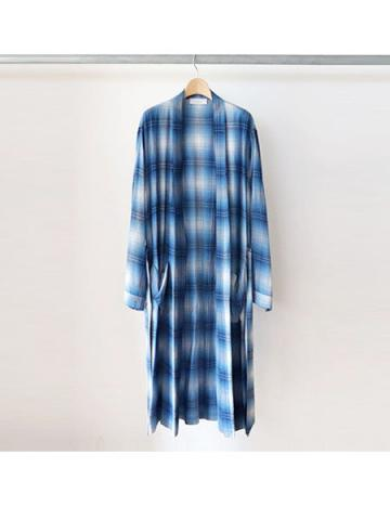 Rayon ombre check robe -BOYS-(BLU)
