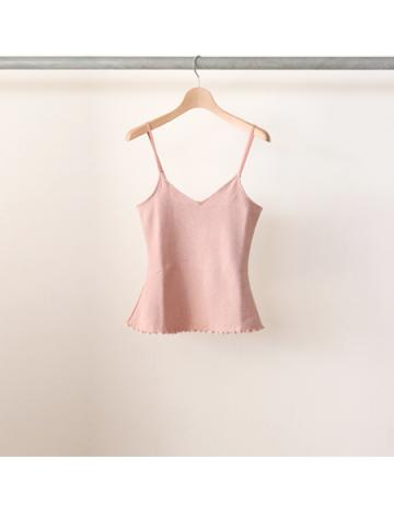 20/- honeycomb frill camisole (PNK)