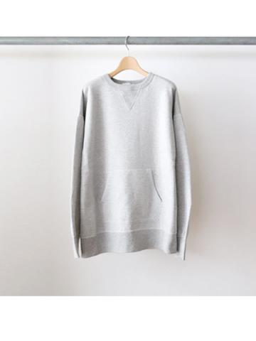Crew neck sweat -BOYS- (GRY)