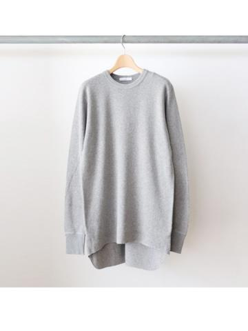 20/- honeycomb crew neck L/S - BOYS- (GRY)