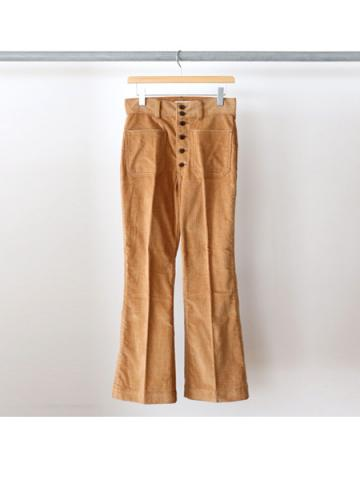 Dobby color corduroy sailor pants (CML)