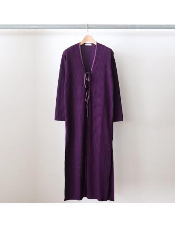 Pe/c wide rib robe (PLE)
