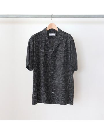 Rayon dot S/S shirt -BOYS- for fab4 (BLK)