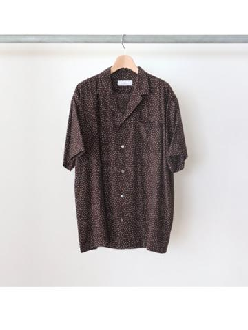 Rayon dot S/S shirt -BOYS- for fab4 (BRN)
