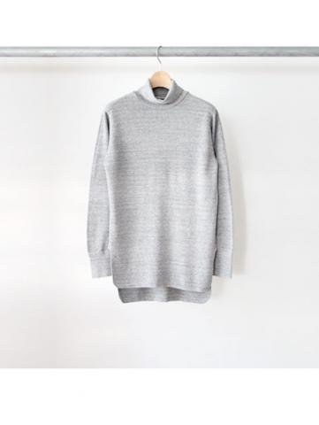 honeycomb turtleneck L/S (GRY)