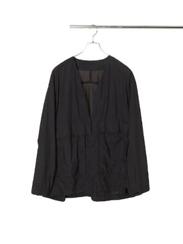 Nylon light taffeta jacket (BLK)