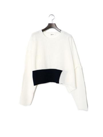 short rib knit (WHT)