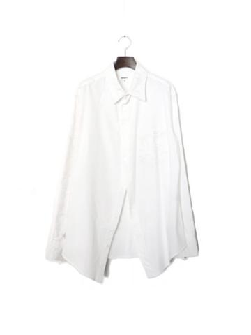 OX wave embro shirt (WHT)