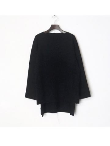over knit (BLK)