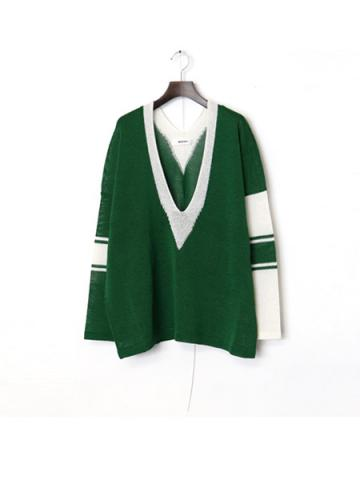school knit (GRN)