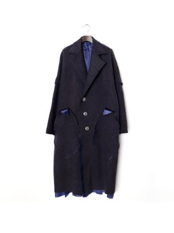 break over coat (BRN)