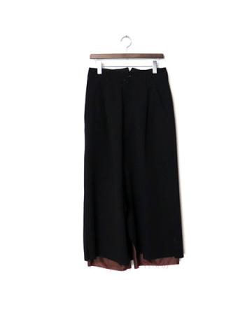 layered skirt PT (BK)