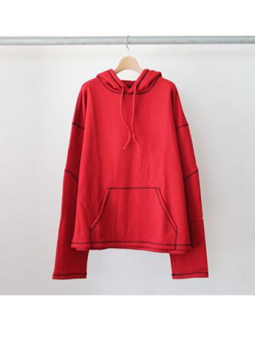 SYU. Fake staff Hoody (RED)