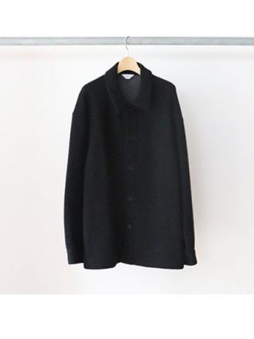 w-face utility knit jacket (BLK)