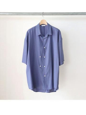 double-buttoned short sleeve shirts (BLU)