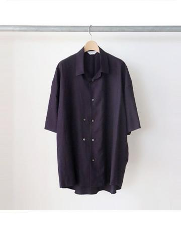 double-buttoned short sleeve shirts (PLE)