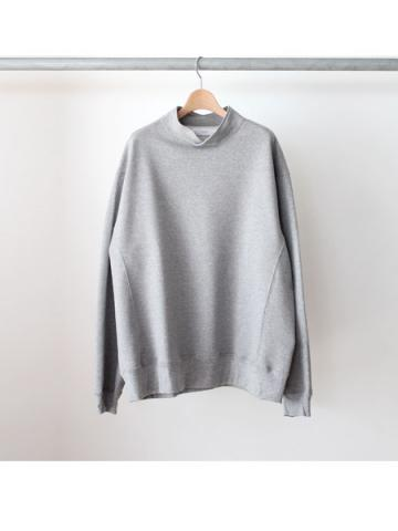 hi-neck sweat (GRY)