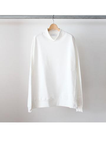 hi-neck sweat (WHT)