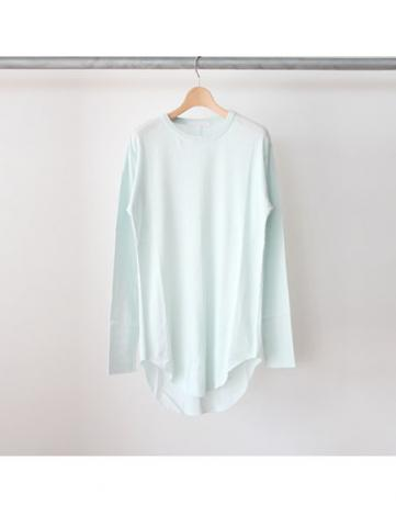 long rib stitch long tee (MNT)