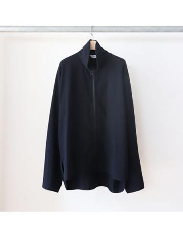 track shirts jacket (BLK)