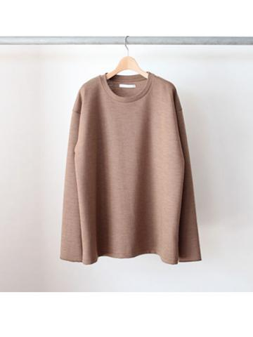 wool punch pullover crewneck (CML)