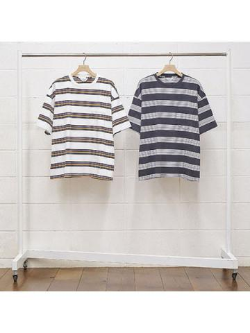short sleeve border t-shirt