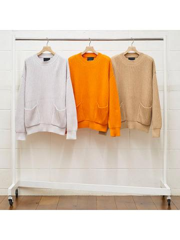 3G pullover knit