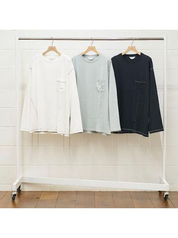 long-sleeve pocket t-shirt