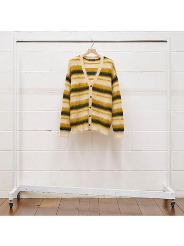 5G border knit cardigan
