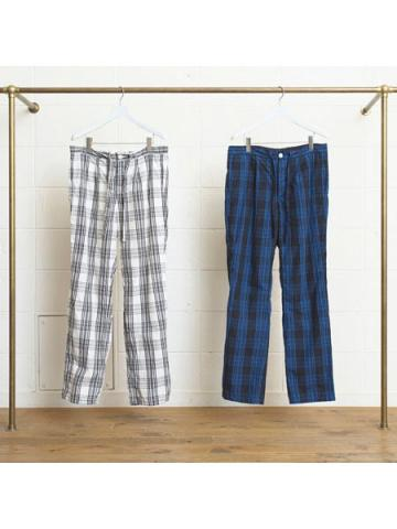 pajama check pants
