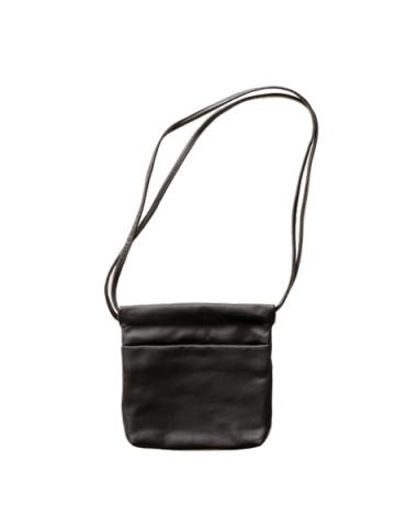LEATHER POUCH (BLK)