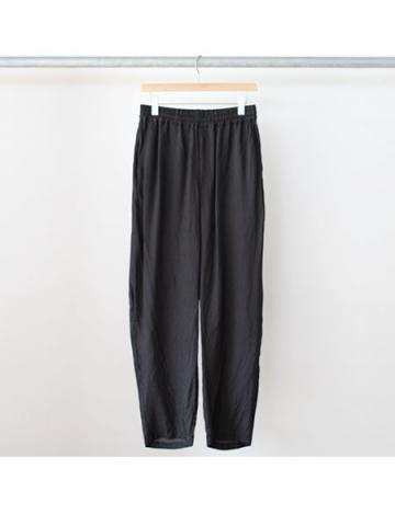 cupro wide tapered pants